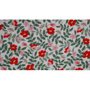 RP402-IV5R - Strawberry fields primrose ivory