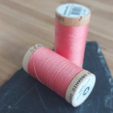 fil coton bio rose corail 4807 - scanfil