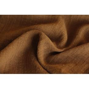 tissu éole camel - gaze de coton