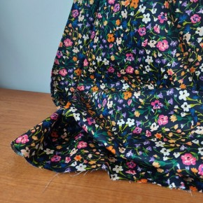 tissu coton loelia - marine