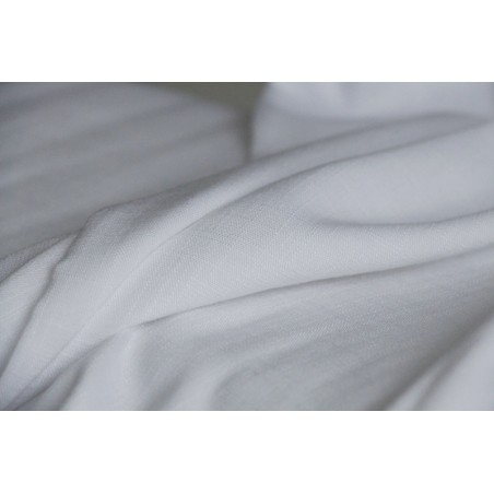 viscose stretch blanc