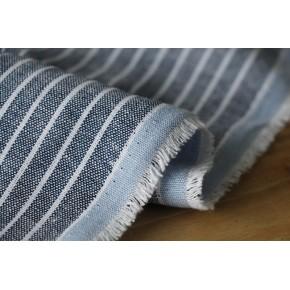 tissu rayures blanc bleu