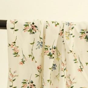 tissu viscose fleurs - patricia
