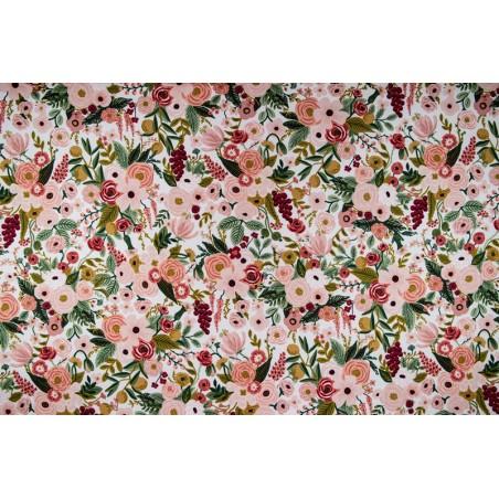 tissu coton rifle paper co - garden party