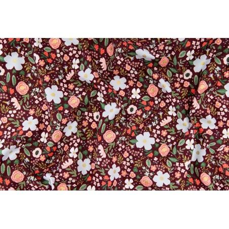 coton rifle paper co - wild rose burgundy
