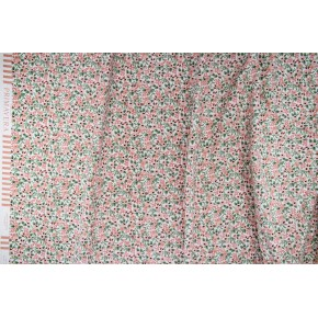 tissu coton rifle paper co - rosa rose