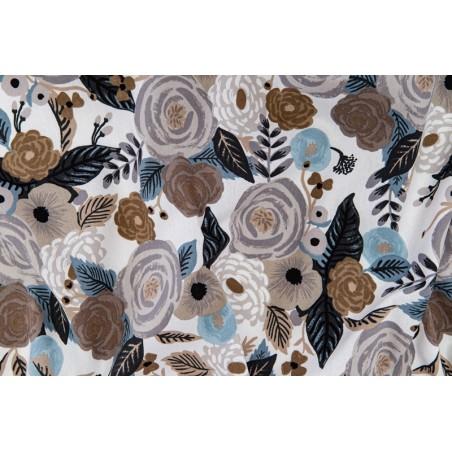 Tissu canvas lin et coton - rifle paper co