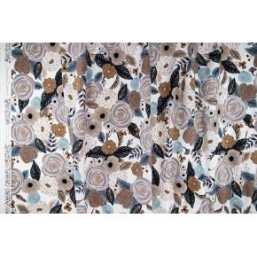 coton canvas juliet linen multi - rifle paper co