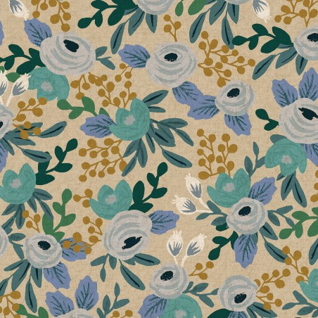 COTON canvas fleurs - rifle paper co