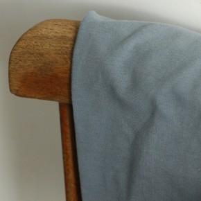 french terry dusty blue - un chat sur un fil