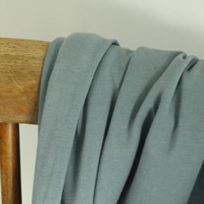 Jersey coton bio - bleu délavé