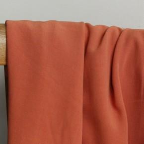 Crêpe de viscose - terracotta