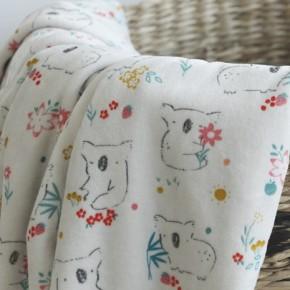Velours pyjama - Koala gris clair