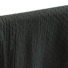 tissu coton plumetis noir