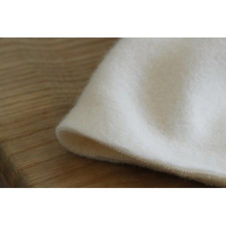 polaire en coton bio au mètre