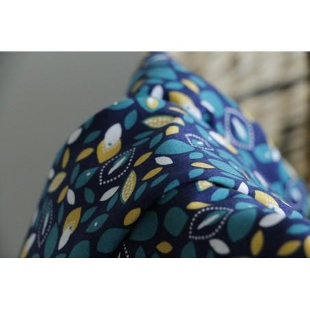 coton imprimé limoncello