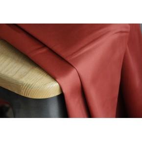 tissu satin de coton stretch - terracotta