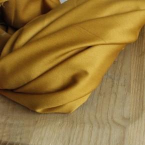 coton uni ocre pour pantalon