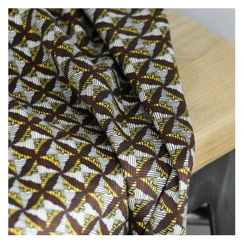 tissu satin de coton imprimé africain