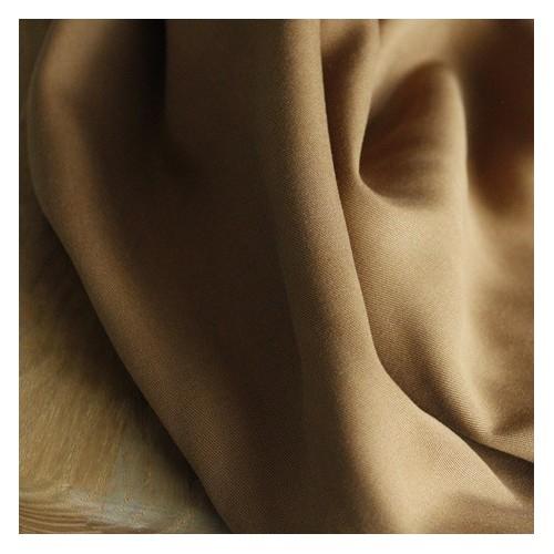Tissu Tencel bronze