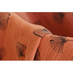 double gaze rouille feuilles de ginkgo