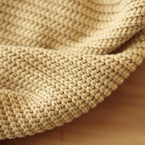 Maille tricot - beige
