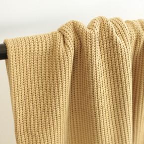 maille tricot au mètre - beige