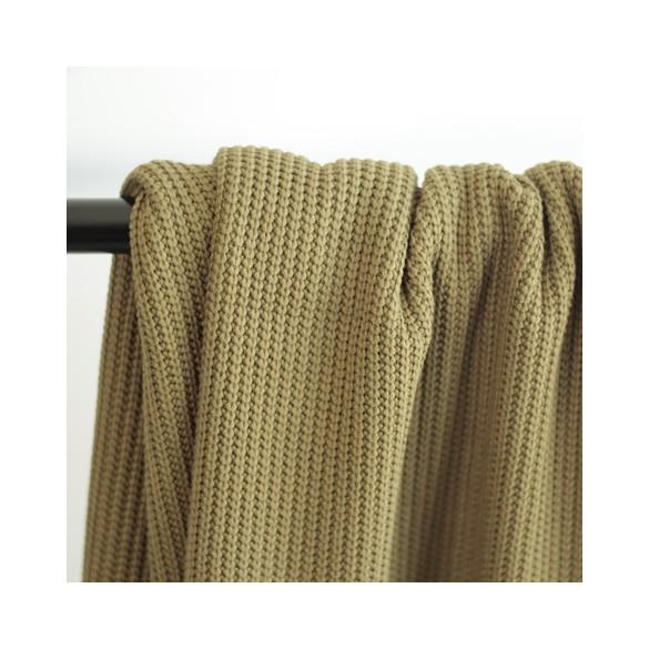 Maille tricot - kaki