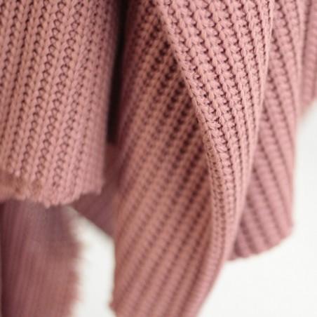 tricot au mètre - vieux rose