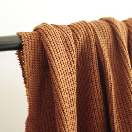 Maille tricot - fauve