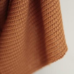 tissu tricot fauve