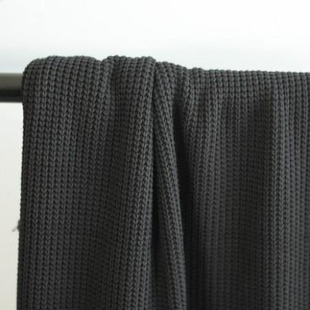Maille tricot - noir