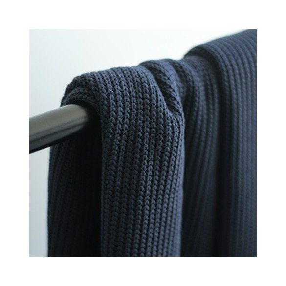 Maille tricot - marine