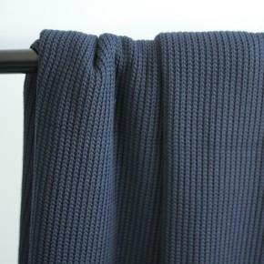 tissu tricot au mètre - marine