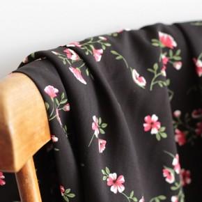 Tissu Viscose Jacqueline - noir