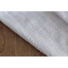voile de coton brodé - blanc