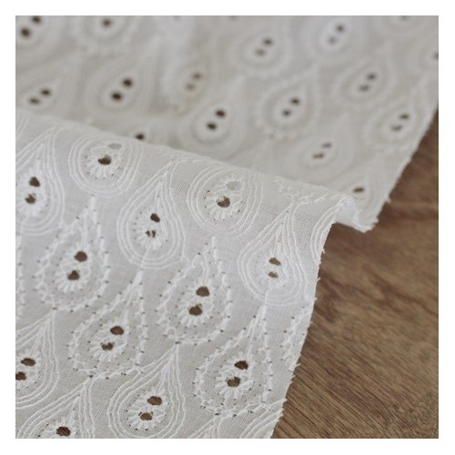 broderie anglaise sidonie blanche