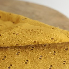Broderie anglaise - Sidonie ocre