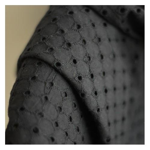 Broderie anglaise - Domitille noir
