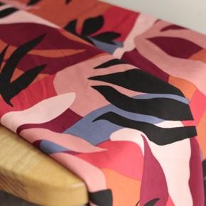 tissu viscose imprimée été 2021