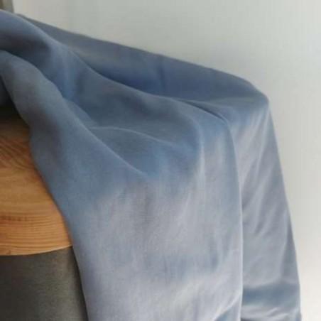 tissu tencel bleu jean