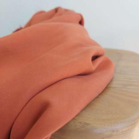 Tissu Tencel - tomette