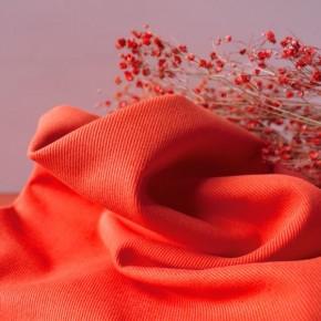 Tissu gabardine Tangerine - Atelier brunette
