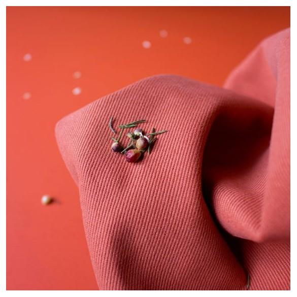Tissu gabardine Chesnut - Atelier brunette