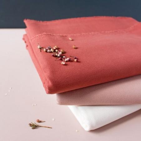 gabardine de coton chesnut - atelier brunette