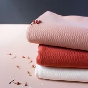 gabardine de coton rose - atelier brunette