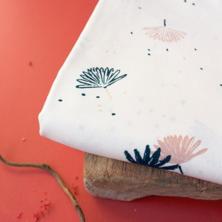Viscose Palmetto off white - Atelier Brunette