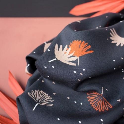 Viscose palmetto night - Atelier Brunette