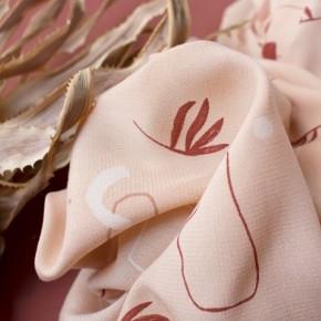 tissu viscose imprimée sandstorm - atelier brunette