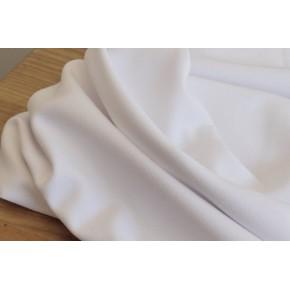 tissu crêpe polyviscose blanc